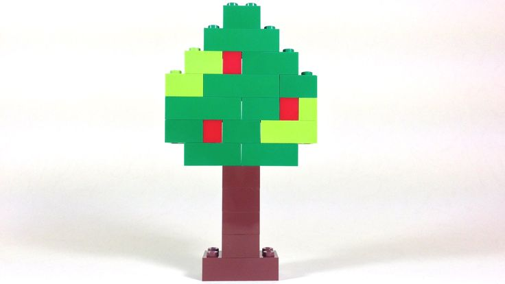 """Let's build a Tree with LEGO® 6177 Basic Bricks Deluxe Building Set With """"Lego Bricks and More"""" - 6177 Building Set, you can create so many colourful, cute a..."""