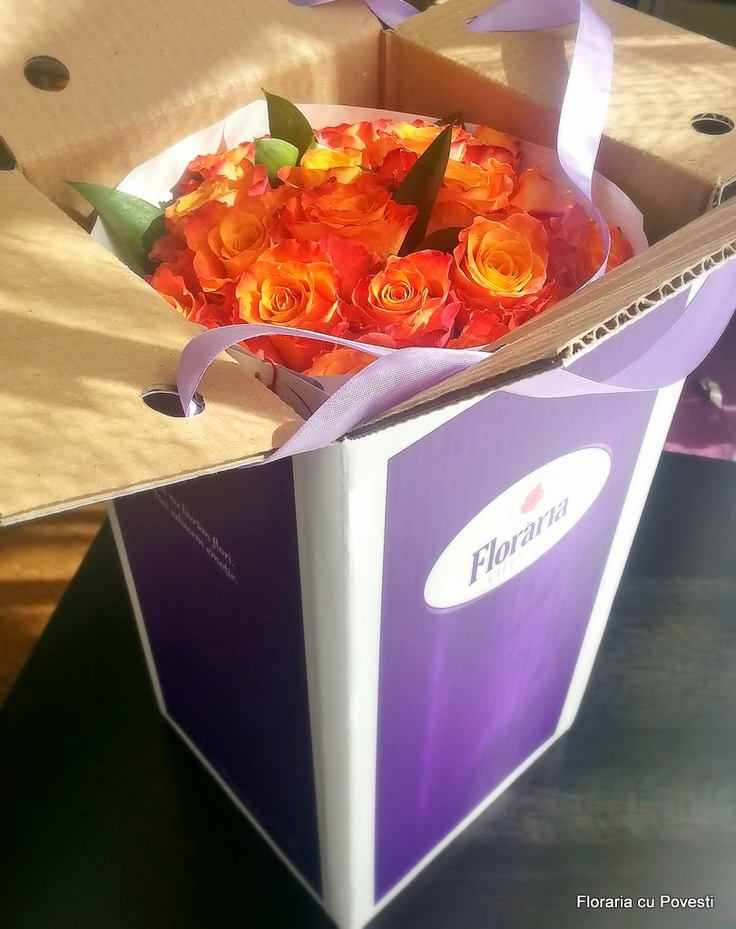 fire roses in our box