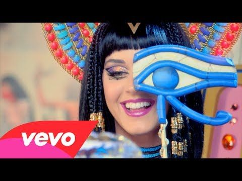 """You can see all of Jiff's great moments in the video for """"Dark Horse"""": 