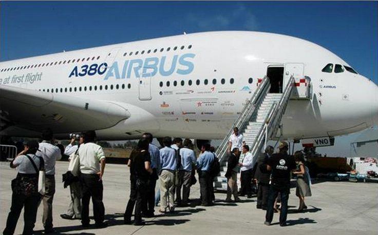 El impresionante AIRBUS A-380 por primera vez se mostrará al público general en FIDAE 2014