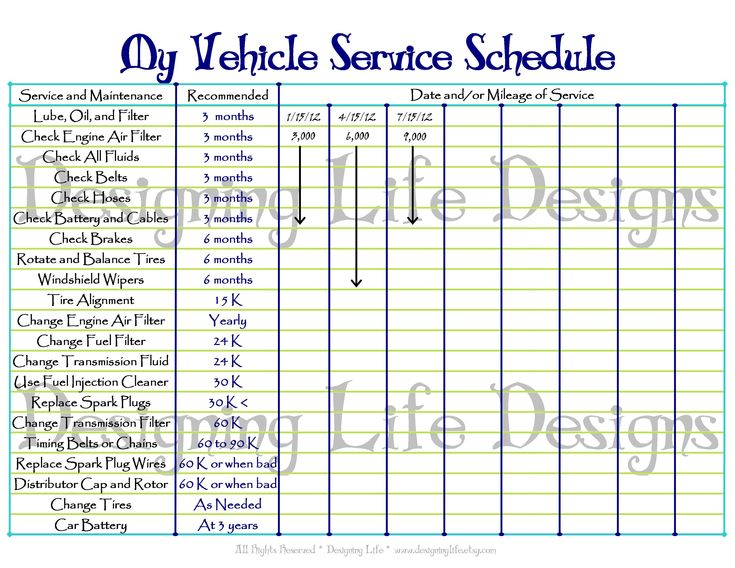 Best  Vehicle Maintenance Log Ideas On   Auto