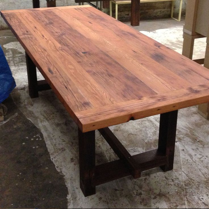 Timbermill Designs Oregon Table Oiled Inspiration