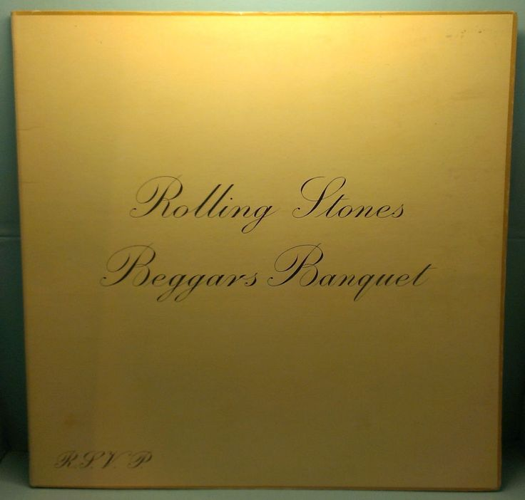 Rolling Stones ~ Beggars Banquet LP London Records 1968 PS-539 First Pressing $25.00 #BluesRock http://stores.ebay.com/cjvintagevinyl