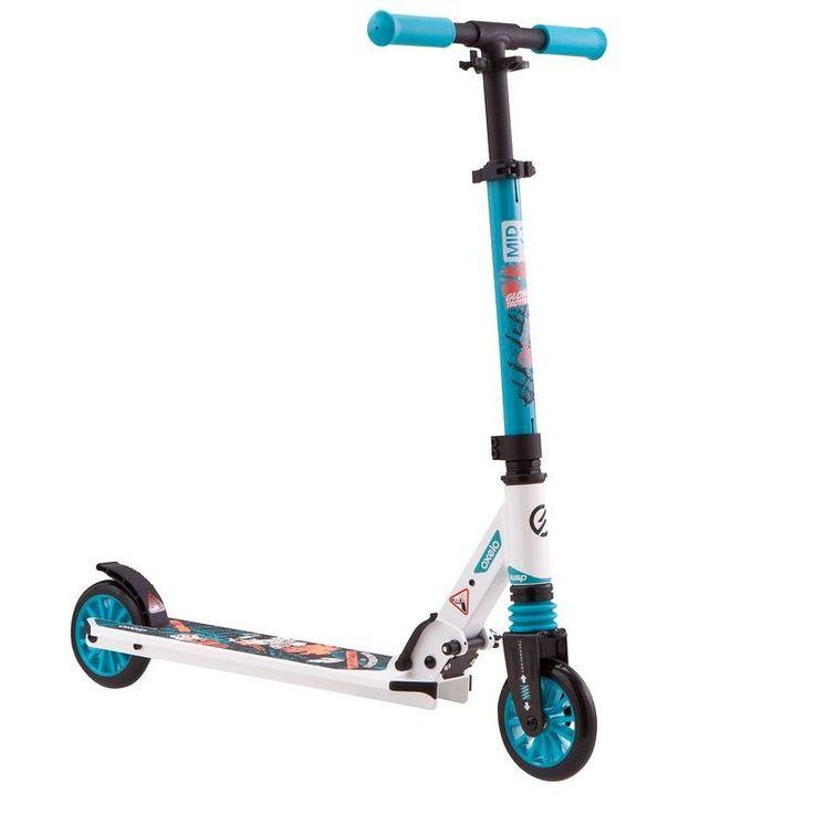 GLISSE URBAINE Trottinette, skate, roller... - TROTTINETTE MID 3 TILE BLUE OXELO - Trottinettes NON_SIGNIFICA.