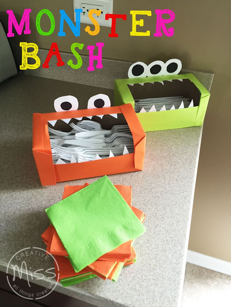 Monster Theme Birthday Party Decorations