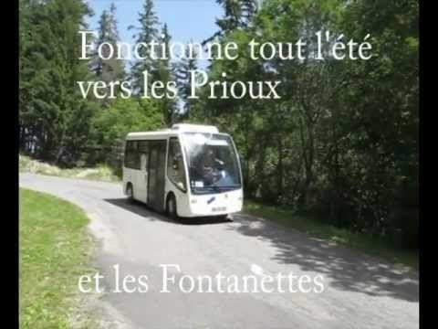 ▶ bus électrique à Pralognan la Vanoise - YouTube