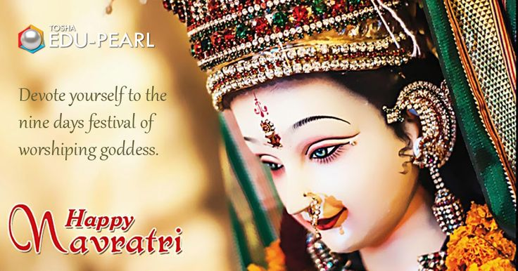 Fortunate is the one who has learned to admire, but not to envy. #Good wishes with a plenty of #Peace&Prosperity. #Happy Navratri !!!