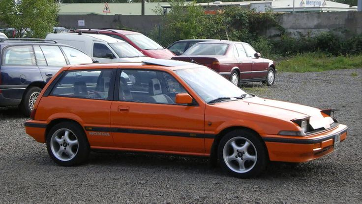 """1986 Honda Civic CRX Si - 1984-1987 Honda Civic CRX 