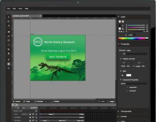 Animaciones en HTML5 con la posibilidad de integrarlo fácilmente con las herramientas de AdWord y AdSence entre otros...