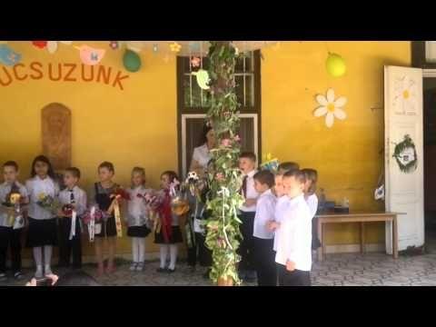 Olasz Barbara és a Süni csoport Óvodai ballagása 2015 - YouTube