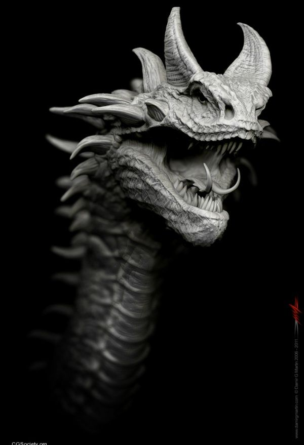 Dragon 24  ZBrush  March 2011