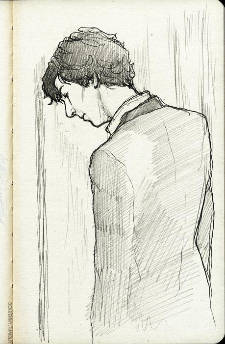Sherlock Fanart <3 so simple