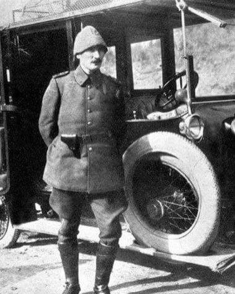 Anafartalarda Yarbay Mustafa Kemal