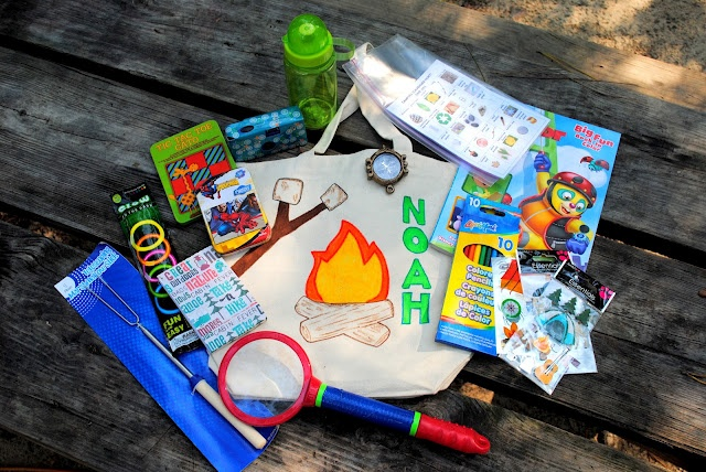 Camping with Kids: Activity Bags