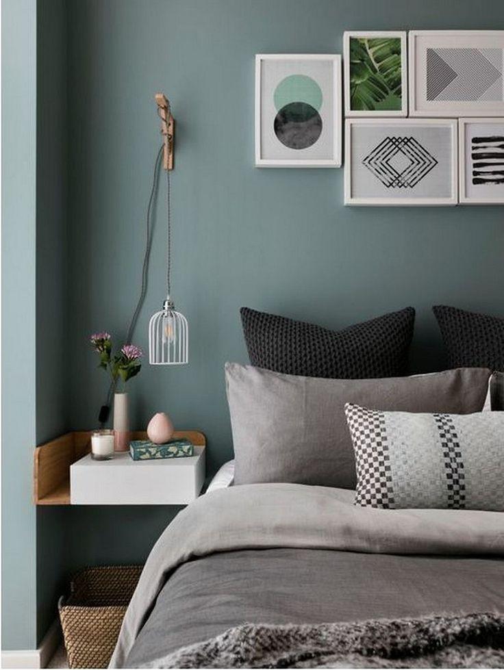 30 schöne skandinavische Schlafzimmer Dekor