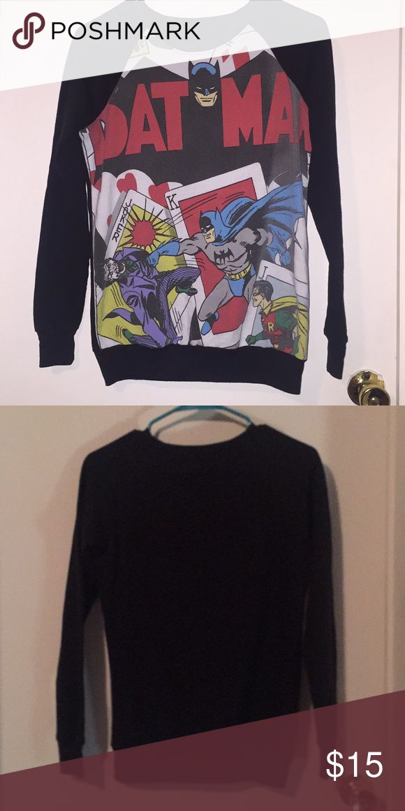 Juniors Batman sweat shirt Juniors size small Batman Tops Sweatshirts & Hoodies
