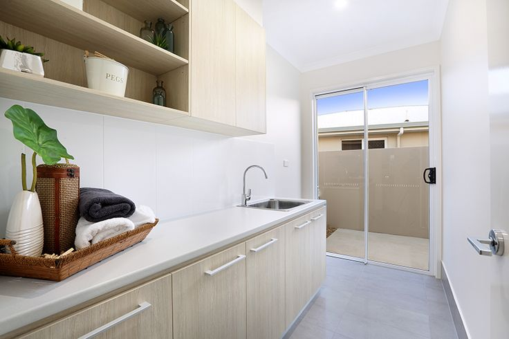Laundry in GJ Gardner display home