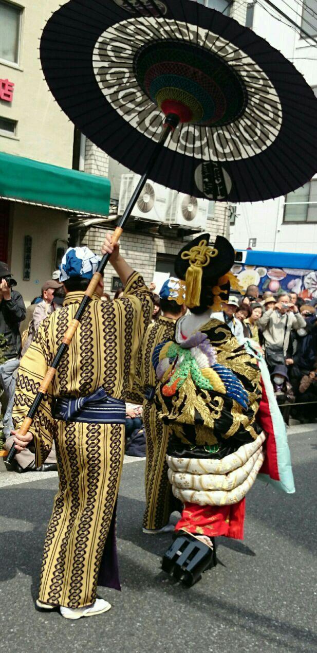 江戸吉原花魁道中2015