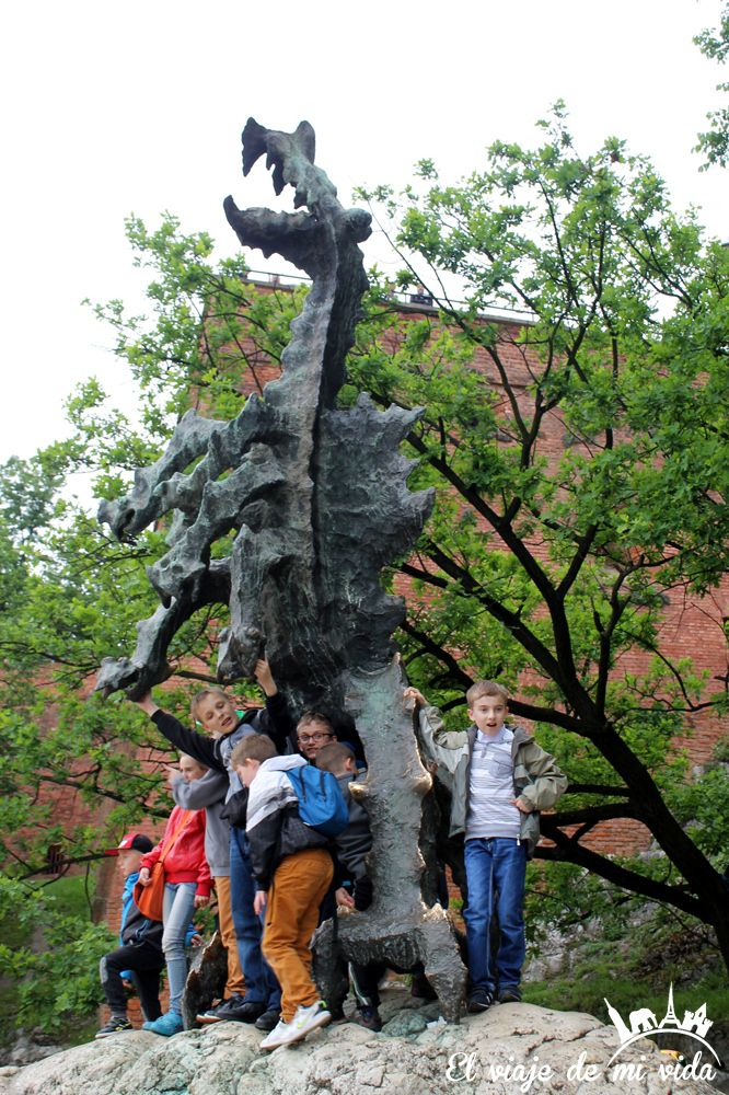 Dragon Wawel Cracovia Polonia