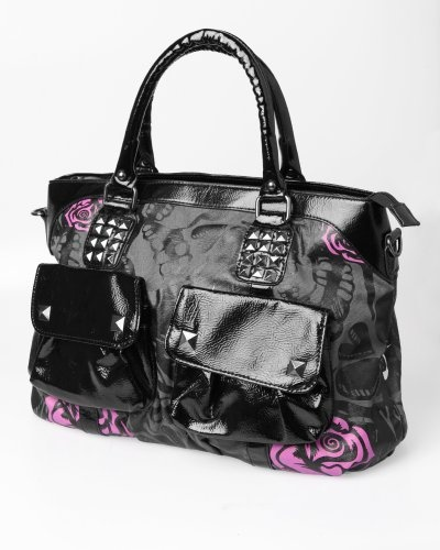 Iron Fist Muerte Punk Skull Vegan Handbag Purse « Clothing Impulse