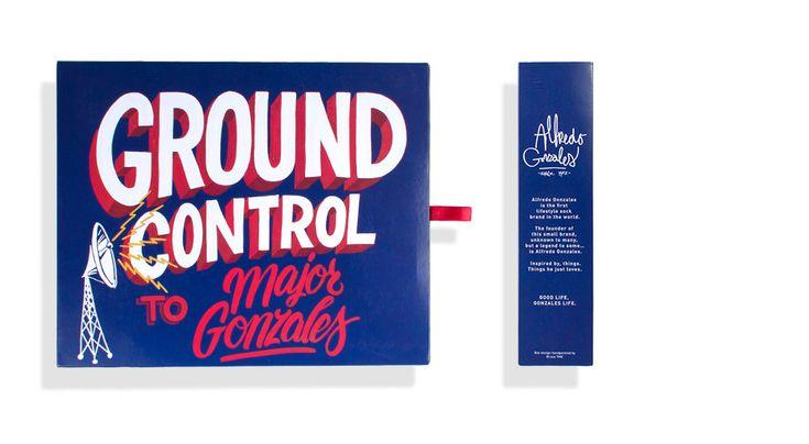 Alfredo Gonzales Website - Painted text