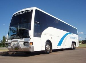 Tasmania Small Group Tours — AusTrips Coach Tours, Group Travel, Holiday Packages, Tasmania, Australia. Langley's Coaches Dubbo are a proud AusTrips partner.... depicted here is their Scania K124EB 6x2 rego TV4176