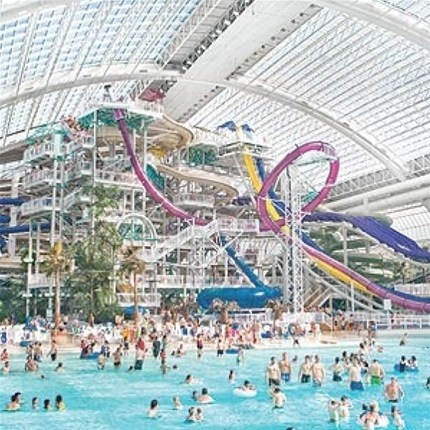 West Edmonton Mall waterpark - Alberta  love it never seen anything like it  visit in 2009