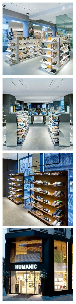 Дизайнеры, при оформлении интерьера магазина обуви Humanic в Вене, уделили весьма много внимания изысканному освещению, выбору светильников и их расположению. #освещение #подсветка #магазин #освещениемагазина #светодиодноеосвещение #светодиоднаяподсветка #дизайн #интерьер #свет #светодизайн #дизайнсвета #дизайнпомещений #светодиоды #освещениемагазина #освещениепомещений #светильники #встраиваемыесветильники #точечныесветильники #подвесныесветильники #дизайнпроект