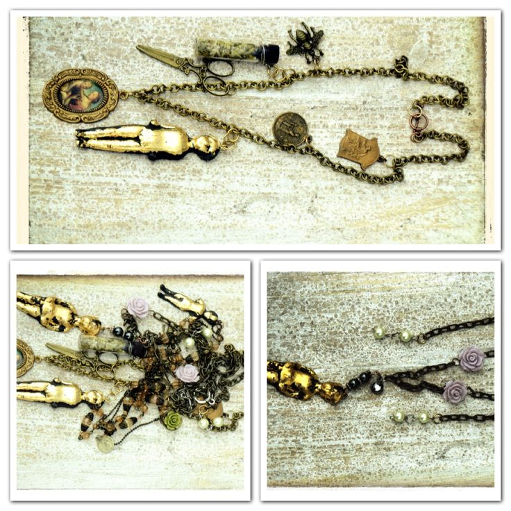Vintage upcycled jewelry