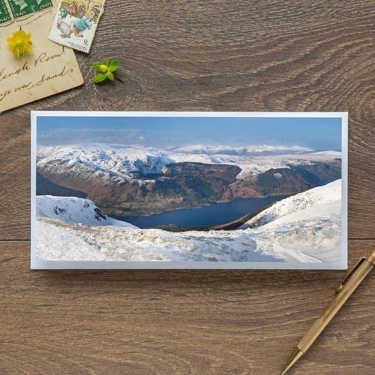Single Blank Card by landscape photographer Nina K Claridge – Thirlmere Reservoir