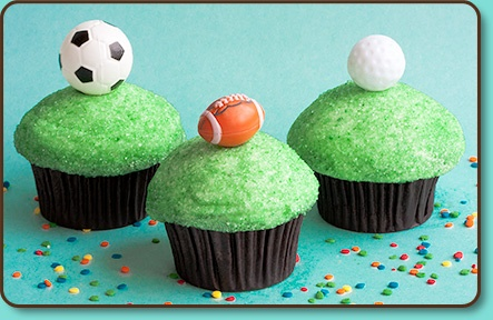 Sports Lovers Cupcakes