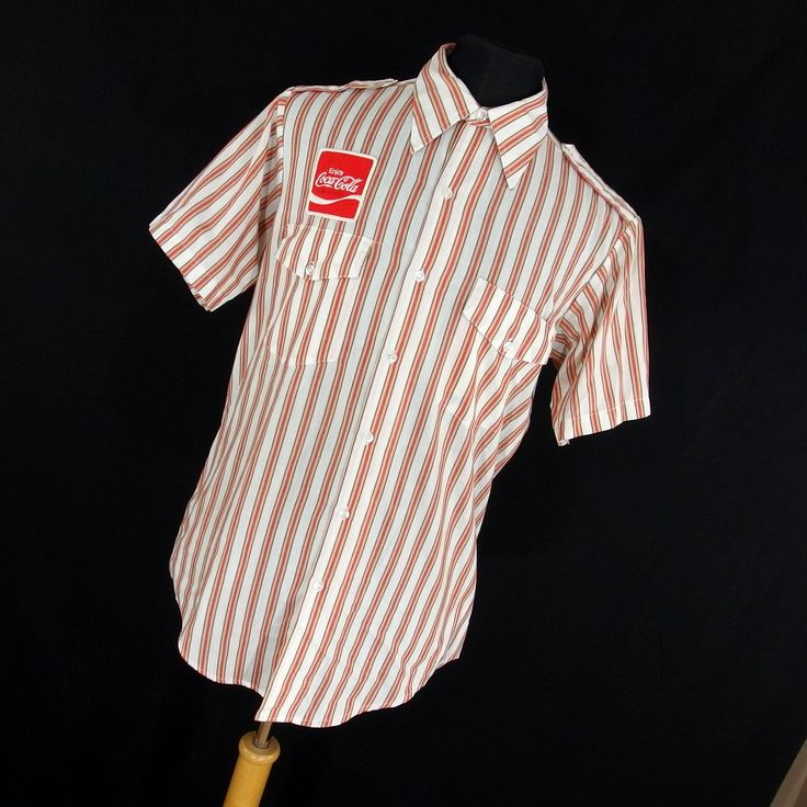 A personal favorite from my Etsy shop https://www.etsy.com/listing/515453690/vintage-70s-coca-cola-work-uniform-shirt