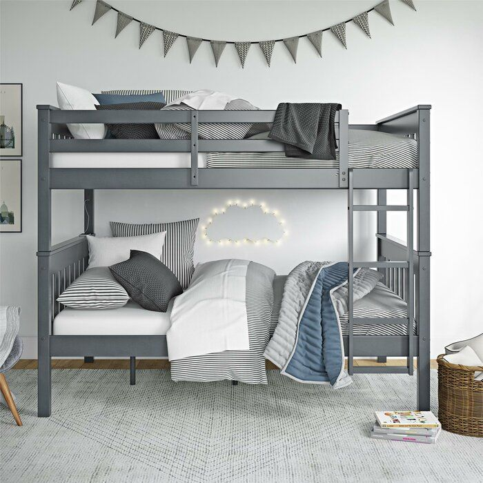 Almedacheatham Full Over Full Bunk Bed Full Bunk Beds Bunk Beds