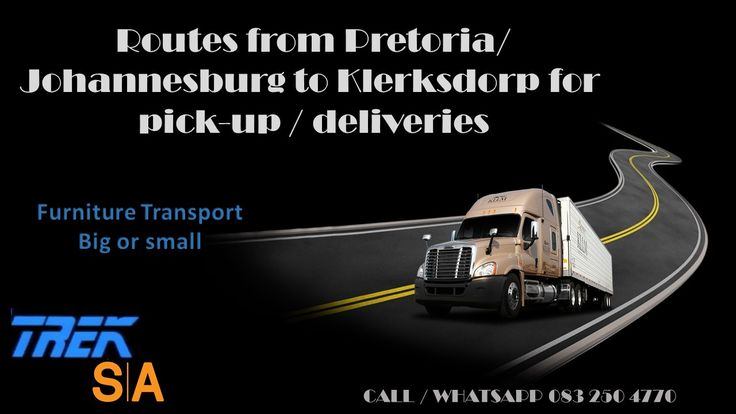 Nationwide Network Movers specializing in part loads to and from all major routes in South Africa . Contractors welcome