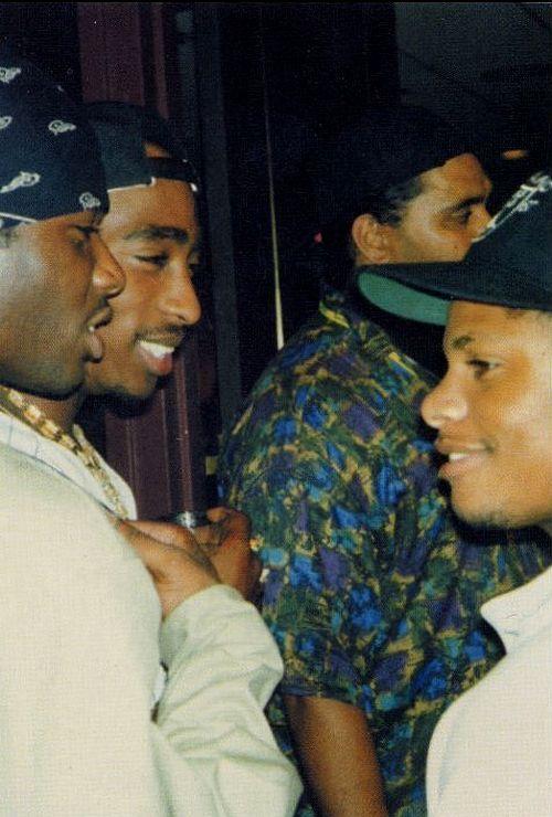 """legendsclothing: """"Tupac Shakur & Eazy-E """""""