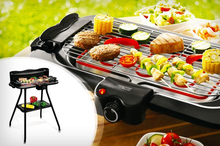 Portable electric barbecue grill - Princess set