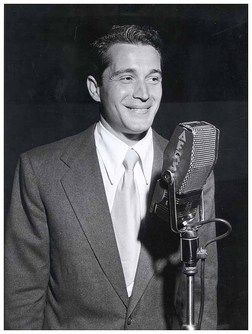 A young, smiling Perry Como. #vintage #singers #musicians