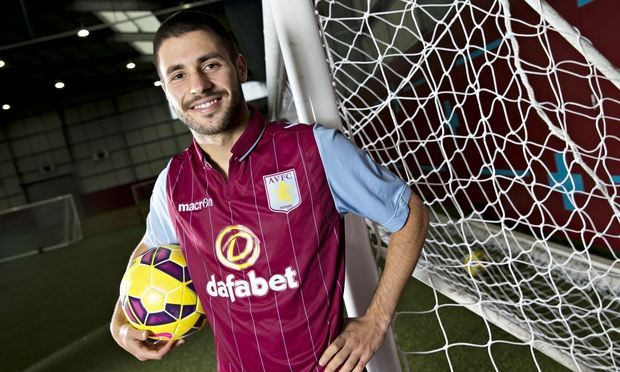 Aston Villa have completed the signing of the midfielder Carles Gil from Valencia on a four-and-a-half year deal