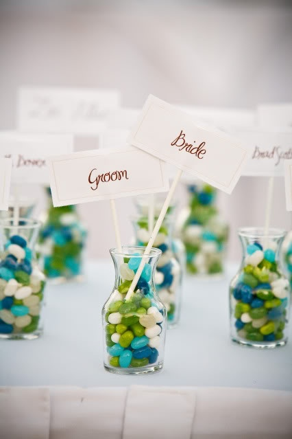 option to add color & placecards