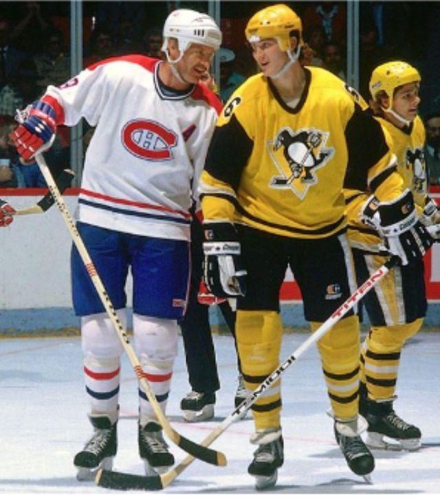 Larry Robinson | Montreal Canadians Mario Lemieux | Pittsburgh Penguins