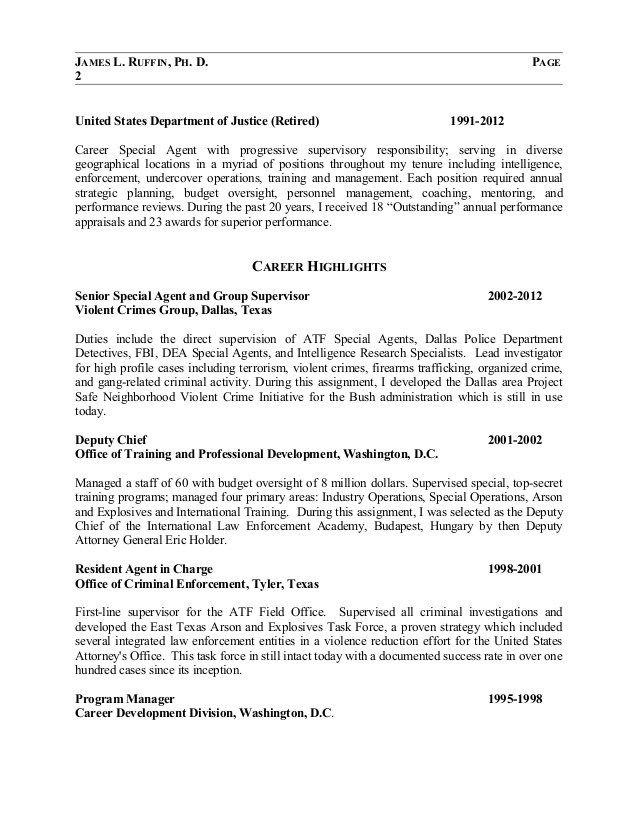 Fbi Resume Ablettervaultradioco Federal Resume Resume Template Resume