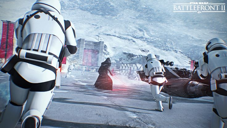 General 1920x1080 Star Wars: Battlefront Star Wars video games stormtrooper Kylo Ren Star Wars Battlefront II