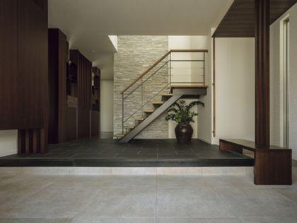 トヨタホーム「玄関ホール」