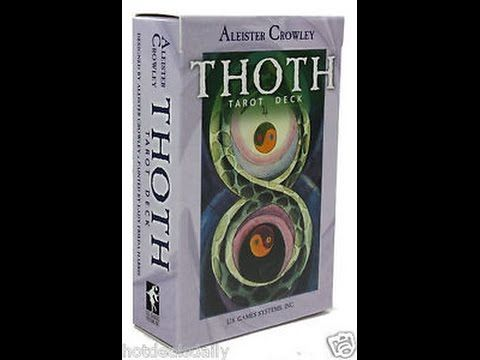 The Thoth Tarot by Aleister Crowley and Lady Frieda Harris: a card-by-card feature by Tarot Zamm. The magnificent Crowley Thoth Tarot Deck contains the kabba...