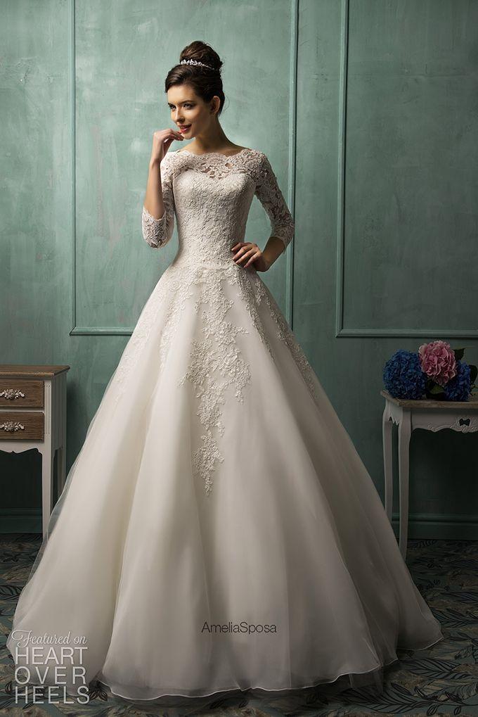 Amelia Sposa 2014 Wedding Dress Style Ines