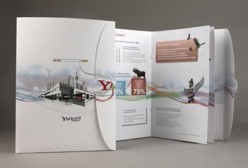 25 Inspiraciones de folletos corporativos