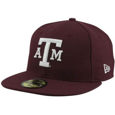 New Era Texas A&M Aggies 59FIFTY Fitted Hat - Maroon