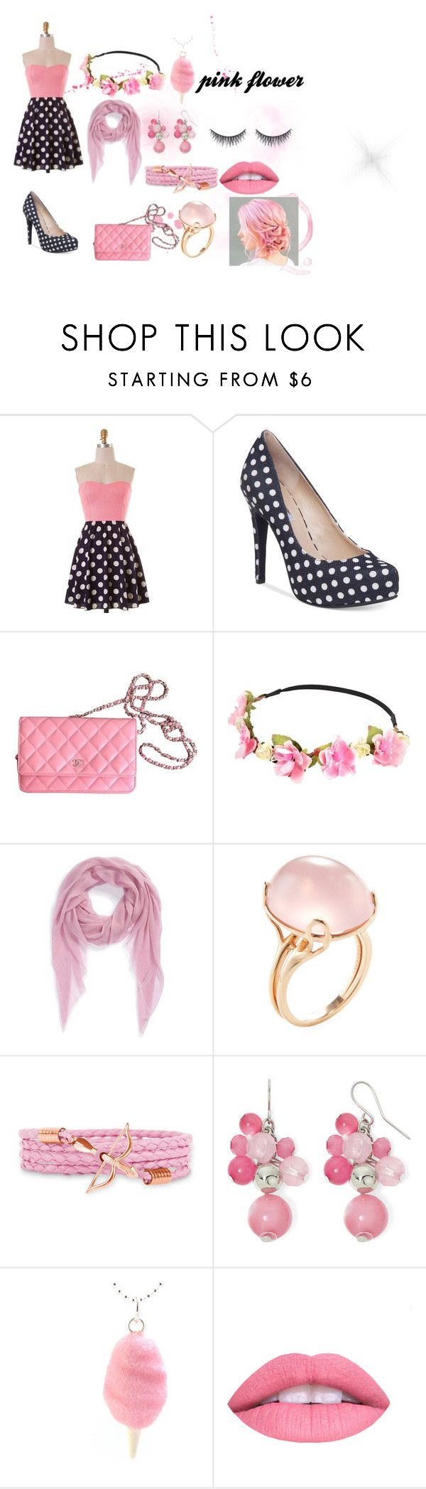Takashi murakami sun flowers and contemporary art uniqlog -  Pink Flower By Electric Dimondkisses On Polyvore Featuring Bcbgeneration Chanel Nordstrom