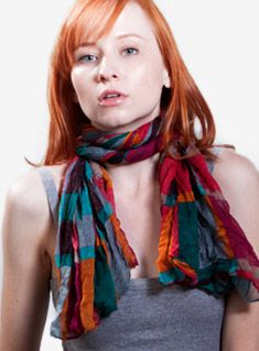 20 Ways To Tie Scarves