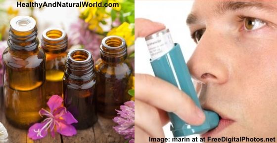 Here is a list of essential oils to control asthma including detailed instructions on how to use them.